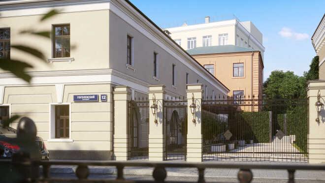 ЖК Гоголевский 12